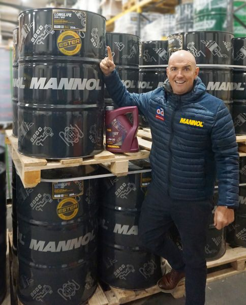 Alan Gaynor of J&S Automotive, the Mannol distributor in Ireland