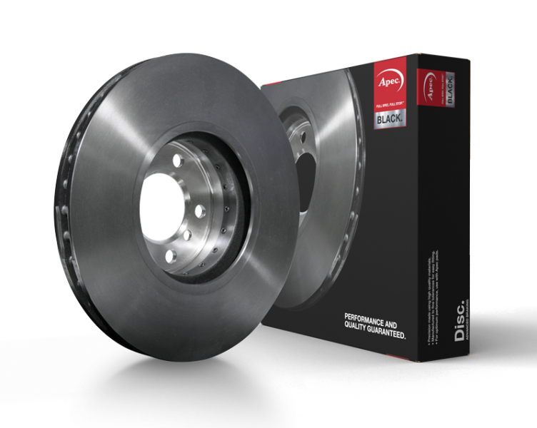 Apec Black Discs feature 2-Piece and Duo Cast Brake Discs technology for lighter, safer braking