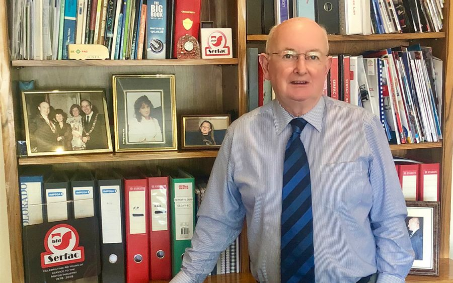 Brian Fanning, who along with Richard Quirke established Serfac in 1978