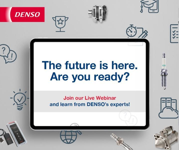 Upcoming DENSO webinars March 3rd: Spark Plugs - Signs that they need to be replaced & March 18th: DENSO Common Rail systems of the 4th Generation