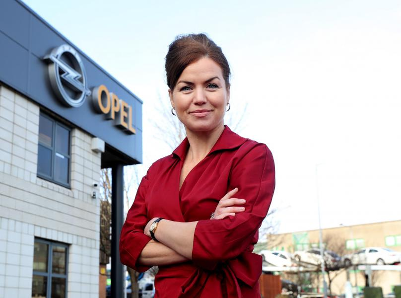 Gillian Whitall, General Manager, Opel Ireland