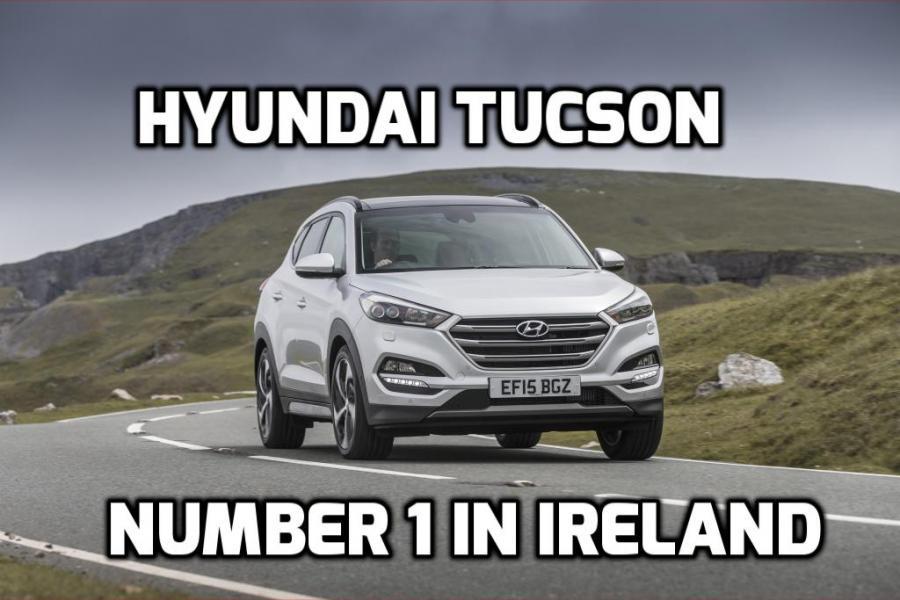 Hyundai Tucson Ireland's best selling car for 2018