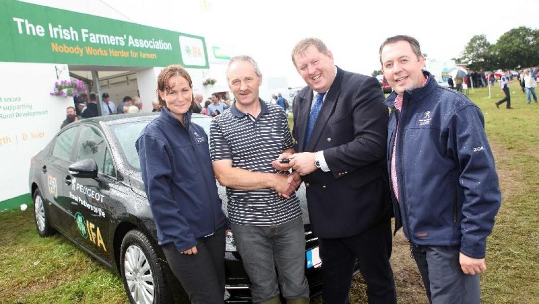 Ifa Member Wins New Peugeot 508