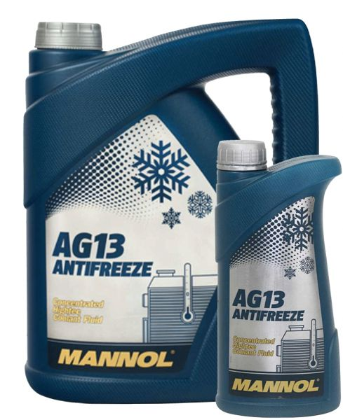 Mannol offers a complete selection of coolant product specifications, ranging from G11 to G13++