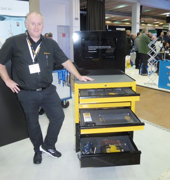 Mark Spoffart, Continential, who was at Mechanex promoting the new timing chain range