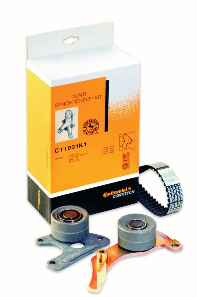ContiTech has expanded its range of timing belt and water pump kits