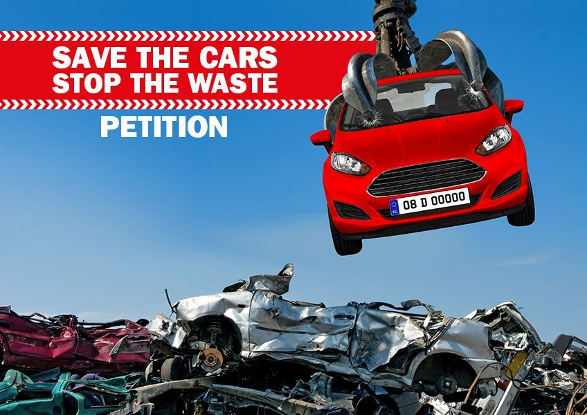 Thousands of clean, low emission vehicles are being scrapped, because they can no longer be economically insured