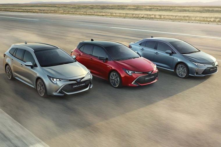 Toyota Corolla range is number 1 in May