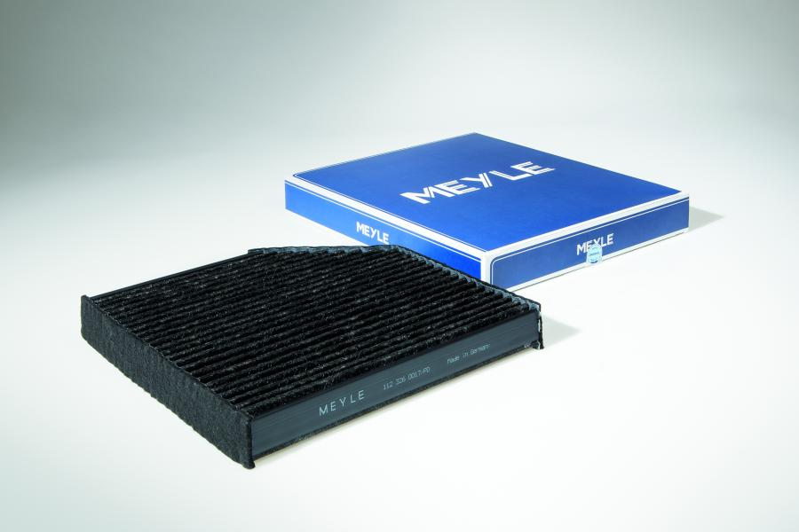 New MEYLE-PD cabin air filters, feature high-quality filter media that is enhanced with specially impregnated active carbon to provide a particularly high adsorption of nitrogen oxide (NOx)