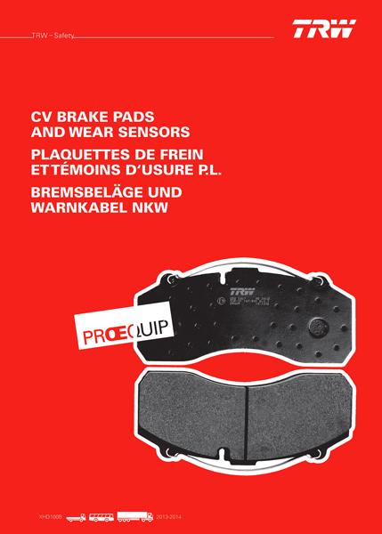 New Proequip brake catalogue